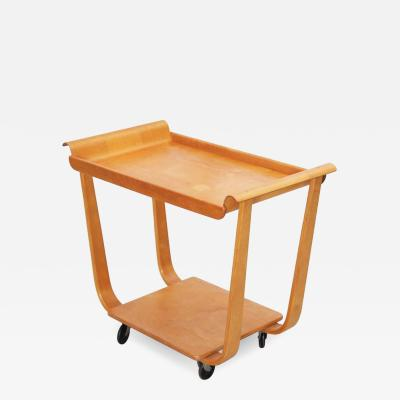 Cees Braakman Cees Braakman Tea Cart for Pastoe in Birch Plywood