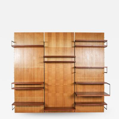 Cees Braakman Cees Braakman for Postoe Japanese Series Wall Unit the Netherlands 1950s
