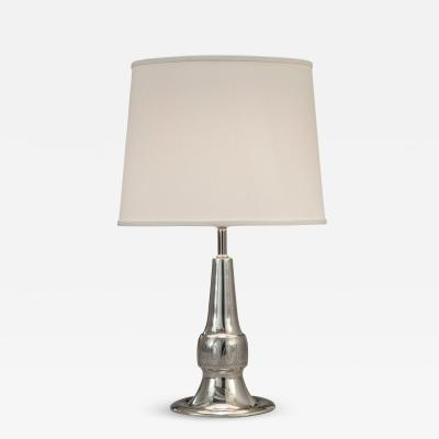Celestin Andersson Celestin Andersson Swedish Grace Period Pewter Lamp