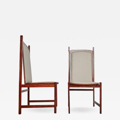 Celina Moveis Celina Moveis Brazilian Mahogany Side Chairs