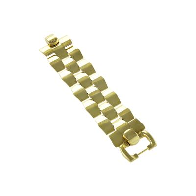 Cellini Cellini Late 20th Century Gold Link Bracelet