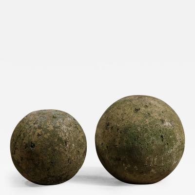 Cement Spheres Two Pairs
