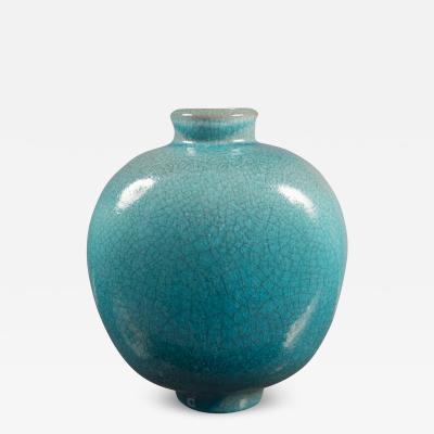 Ceramic Vase by Karlsruhe Majolica Germany 1950s
