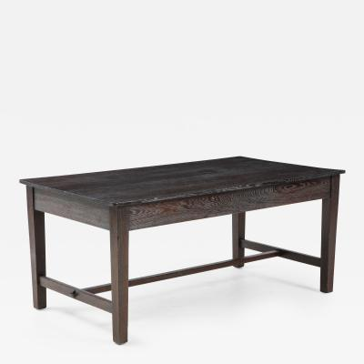 Cerused Oak Farmhouse Table