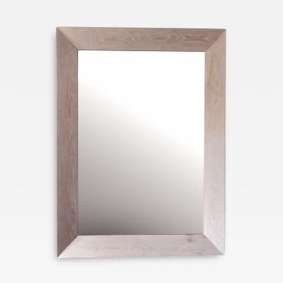 Cerused Oak Framed Mirror