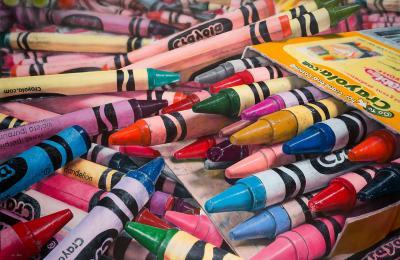 Cesar Santander The World of Crayons