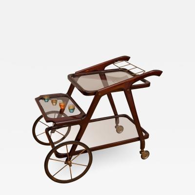 Cesare Lacca Bar cart by Cesare Lacca Italy circa 1955