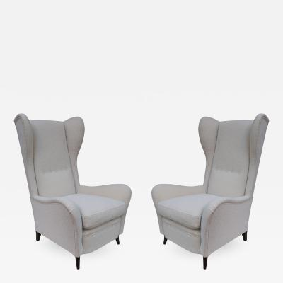 Cesare Lacca Cesare Lacca Pair of Armchairs Italy 1950