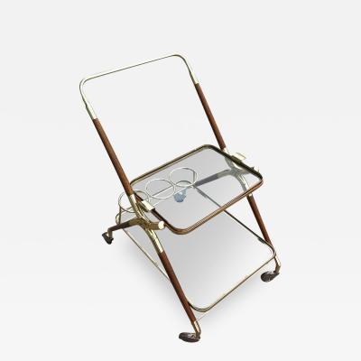 Cesare Lacca Italian Bar Cart Cesare Lacca 1950s