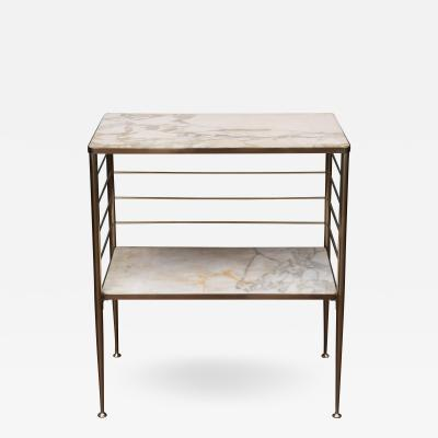 Cesare Lacca Italian Brass and Marble Dry Bar