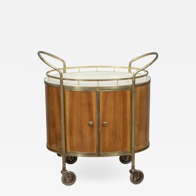 Cesare Lacca Mid Century Modern Italian Bar Cart