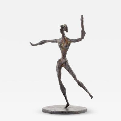 Chaim Gross Chaim Gross Bronze Figural Sculpture