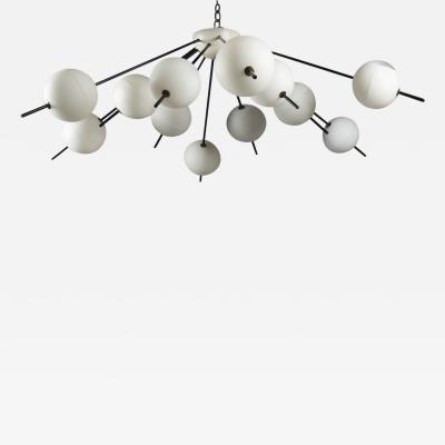 Chandelier by Angelo Lelii for Arredoluce Italy 1958