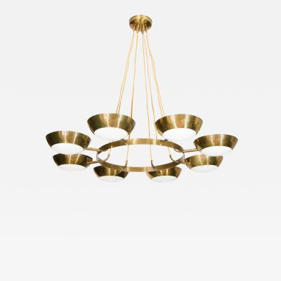 Chandelier in the Style of Gino Sarfatti for Arteluce