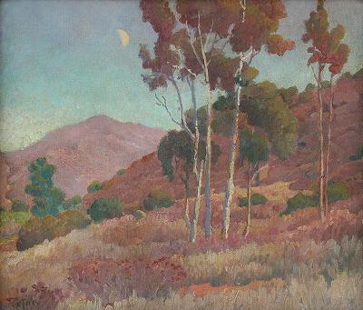 Charles Arthur Fries On the Hillside