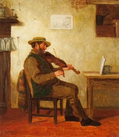 Charles Caryl Coleman The Violin Player