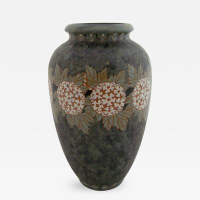 Charles Catteau Boch Freres Gres Kermais Vase 1920