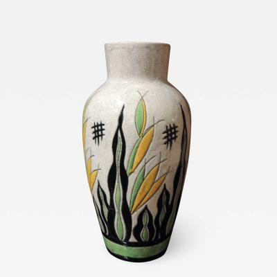 Charles Catteau Charles Catteau Art Deco Vase for Atelier de Fantasie by Boch Ceramics