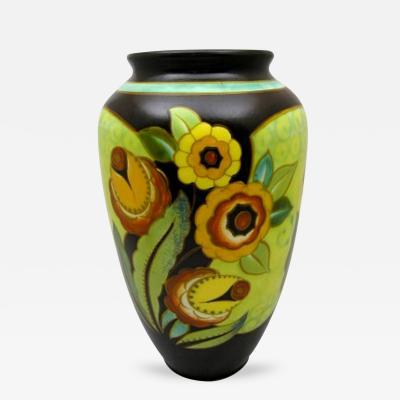 Charles Catteau Charles Catteau Floral Vase for Boch Freres Keramis 1939