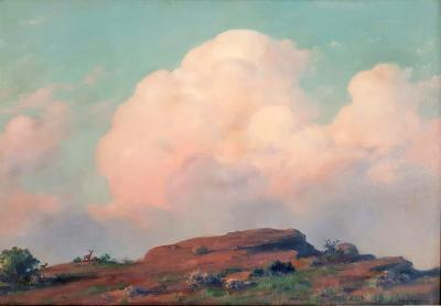 Charles Courtney Curran Evening on the Summit