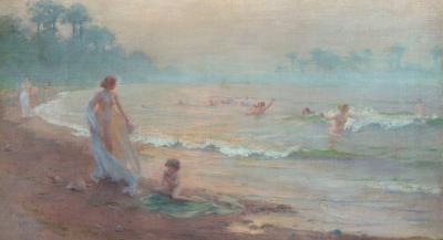Charles Courtney Curran The Enchanted Shore