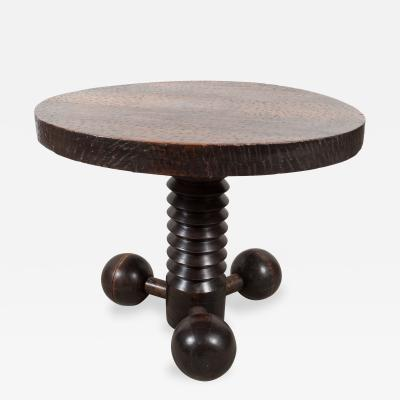 Charles Dudouyt Charles Dudouyt Small Round Table