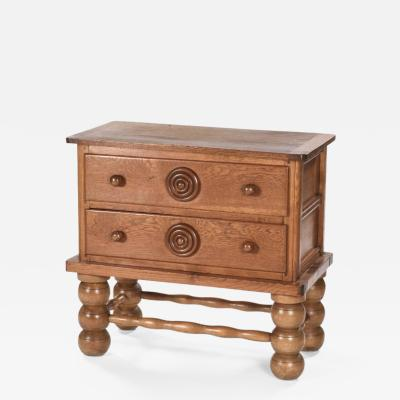 Charles Dudouyt Charles Dudouyt charming carved chest of drawers