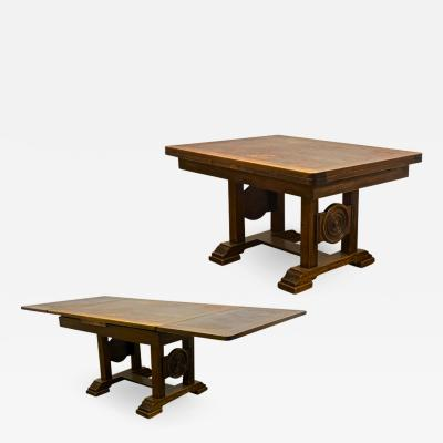 Charles Dudouyt Charles Dudouyt extensible solid wood dinning table