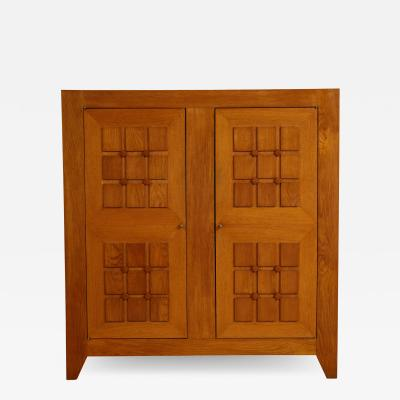 Charles Dudouyt LARGE SCULPTED FRONT CABINET BY CHARLES DUDOUYT