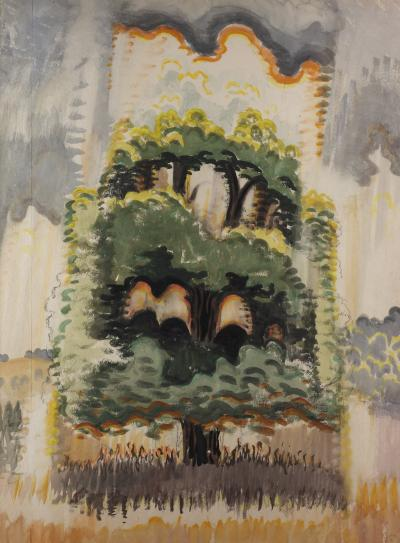 Charles E Burchfield At The Maples North of Little Valley