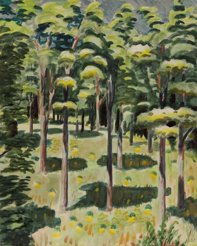 Charles E Burchfield Woodland Scene 1939