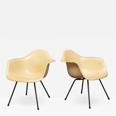 Charles Eames Charles Eames LAX Armshell Lounge Chairs