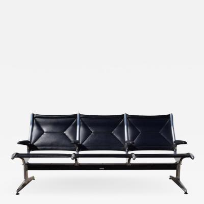 Charles Eames Eames for Herman Miller Tandem Sling Airport Bench