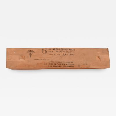 Charles Eames Original Box Charles Eames Leg Splints for Evans Plywood Division