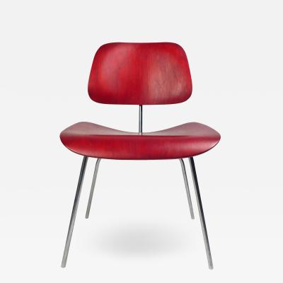 Charles Eames Production DCM by Charles Eames red 1950s