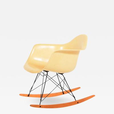 Charles Eames RAR Second Edition Rocking Armchair by Charles Eames for Herman Miller