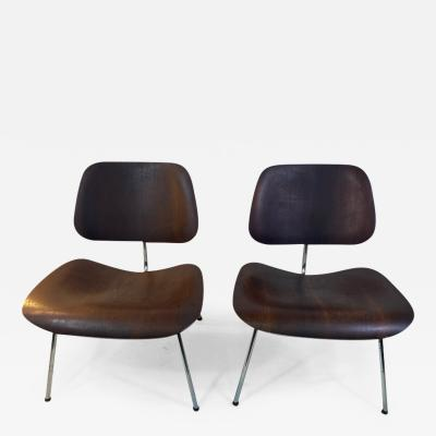 Charles Eames RARE MID CENTURY PAIR OF CHARLES EAMES LOUNGE CHAIRS FOR HERMAN MILLER