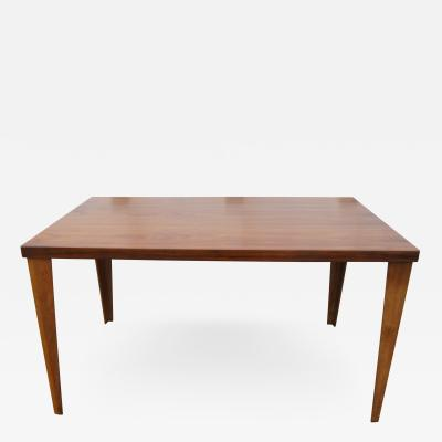 Charles Eames Rare DTW 1 Dining Table in Walnut by Charles Eames for Herman Miller