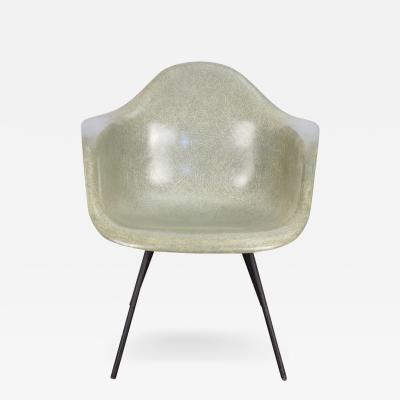 Charles Eames Second Generation Eames Seafoam Armshell Chair