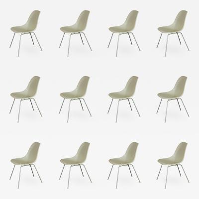 Charles Eames Vintage White Eames Shell Chairs