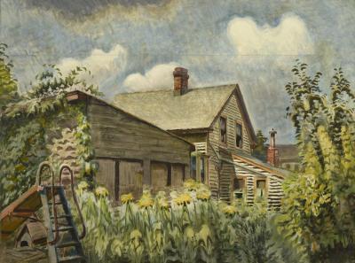 Charles Ephraim Burchfield August Morn