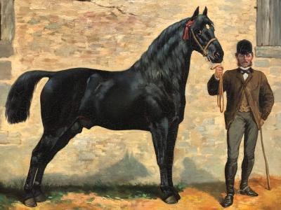Charles Fernand De Condomy Horse and Groom
