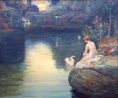 Charles Frederick Naegele Charles Frederick Naegele Pool of my Imagination Circa 1920