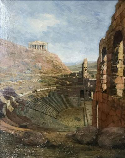 Charles Gifford Dyer Odeon of Herodes