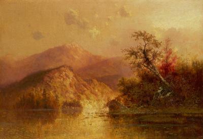Charles H Chapin Autumn Landscape