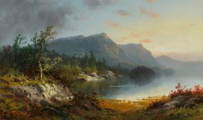 Charles H Chapin Landscape