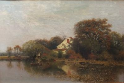 Charles Harry Eaton Fishing on a Summers Day