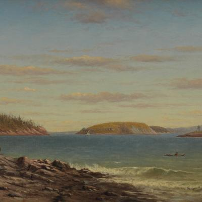 Charles Henry Gifford Frenchman s Bay Mount Desert Island Maine 1874