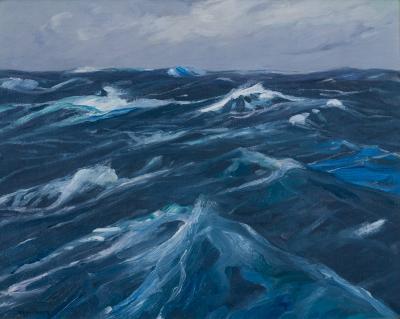 Charles Herbert Woodbury Windswept Seas