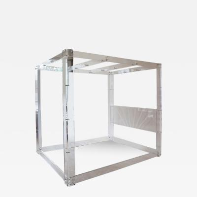 Charles Hollis Jones Charles Hollis Jones Lucite Bed